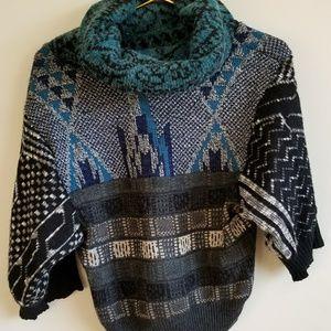 Urban Renewal crop cowl neck sweater